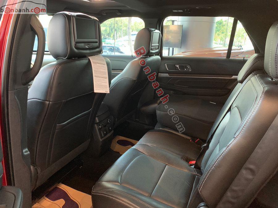 Hàng ghế thứ hai của Ford Explorer