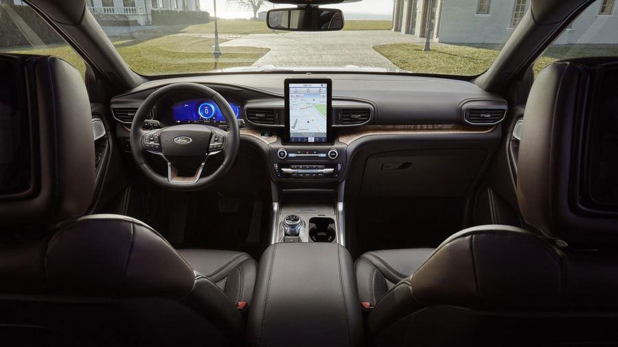 Nội thất Ford Explorer 2020