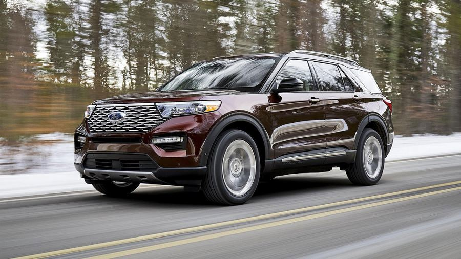Thân xe Ford Explorer 2020