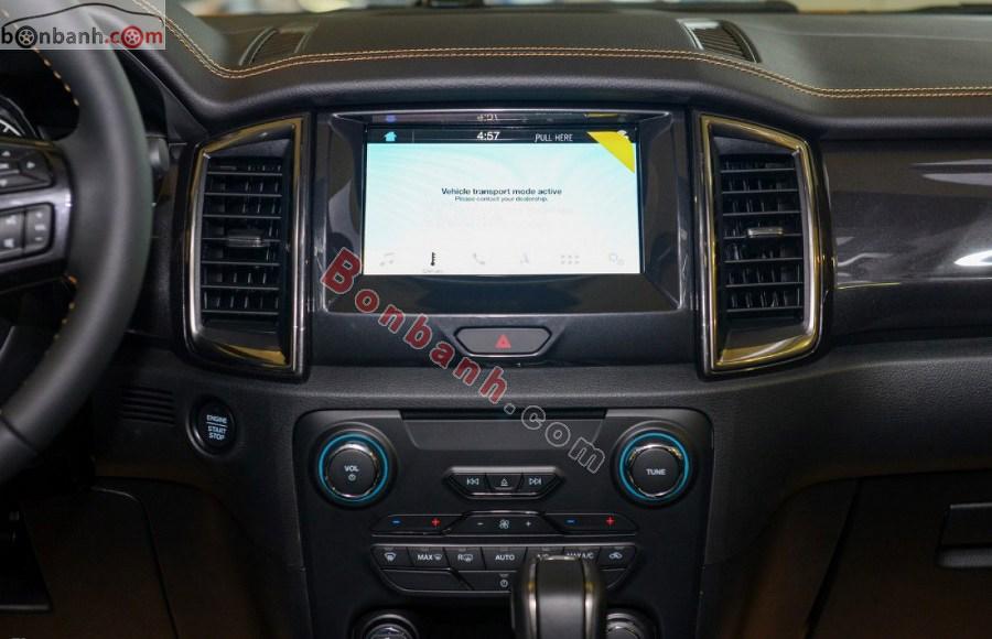 Bảng điều khiển trung tâm Ford Ranger 2020