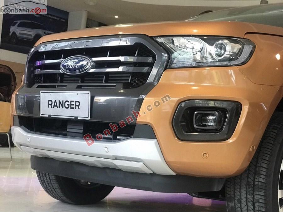 Hệ thống đèn phía trước của Ford Ranger 2020