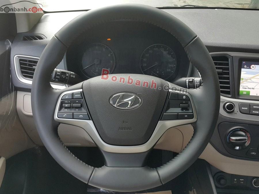 Vô lăng của Hyundai Accent 2020