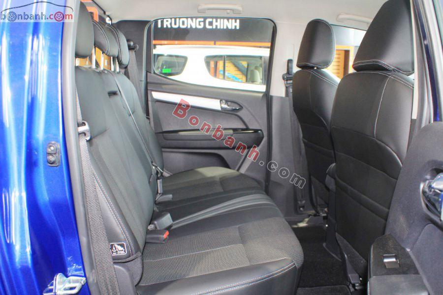 Hàng ghế hành khách phía sau của Isuzu Dmax 2020