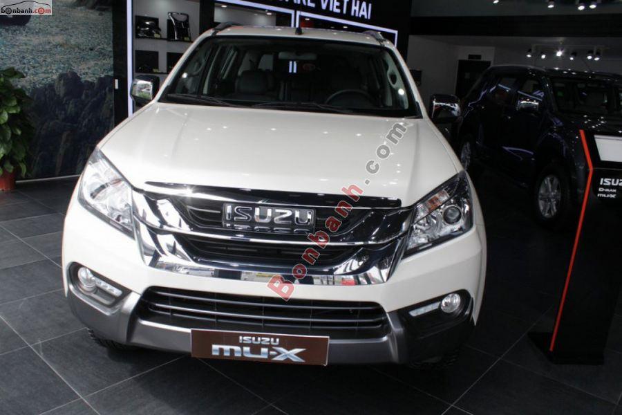 Đầu xe Isuzu MUX 2020