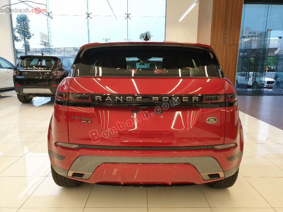 Đuôi xe Land Rover Range Rover Evoque 2020