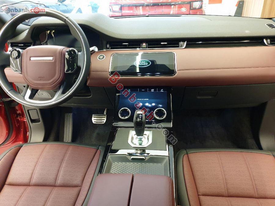 Tiện nghi trên xe Land Rover Range Rover Evoque 2020