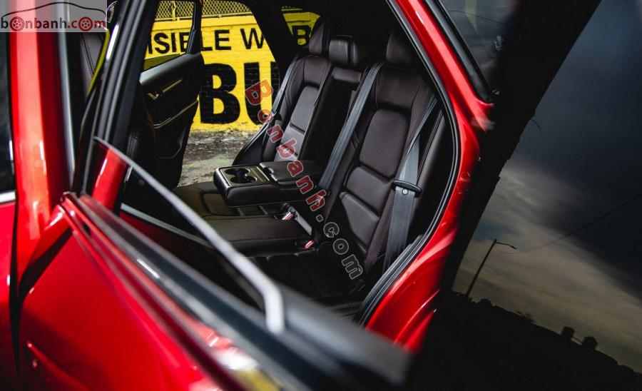 Hàng ghế sau Mazda CX-5 2021