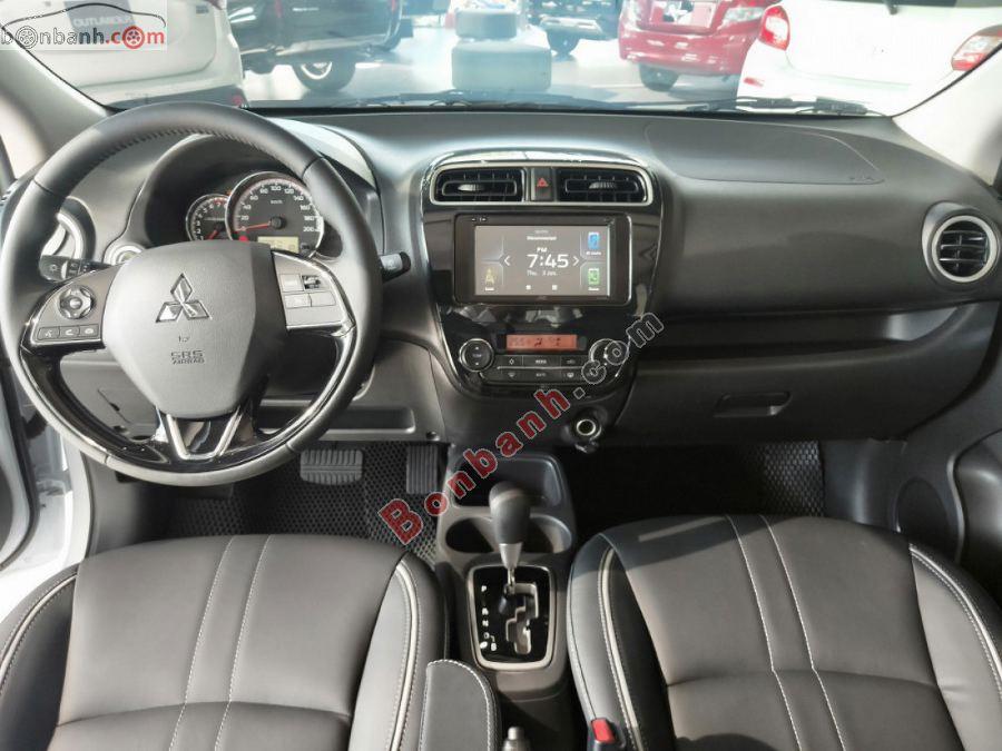 Nội thất khoang lái Mitsubishi Attrage 2020