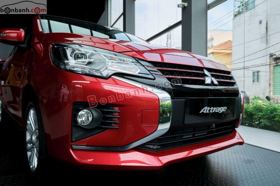 Cụm đèn phía trước của Mitsubishi Attrage 2020