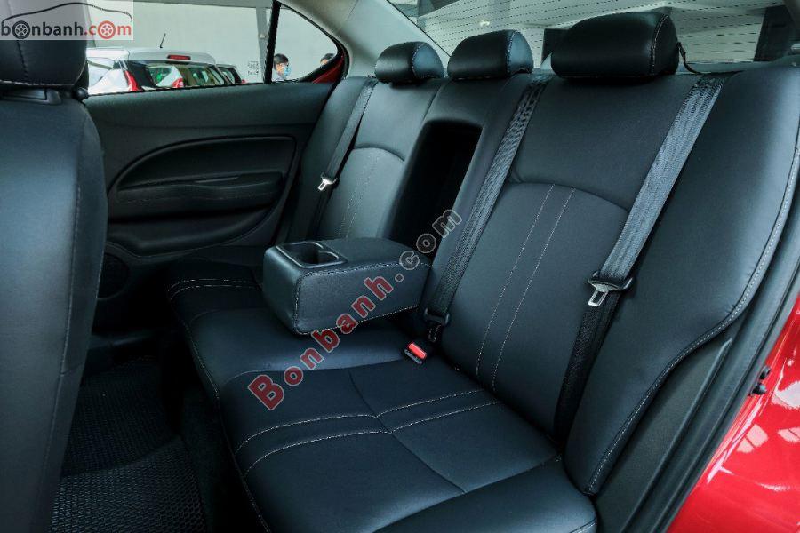 Hàng ghế sau của Mitsubishi Attrage 2020