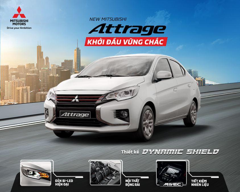 New Mitsubishi Attrage 2020