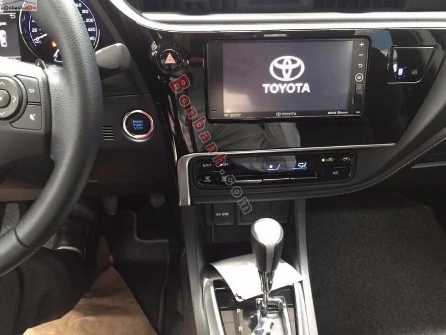 Tiện ích trên Toyota Altis 2021