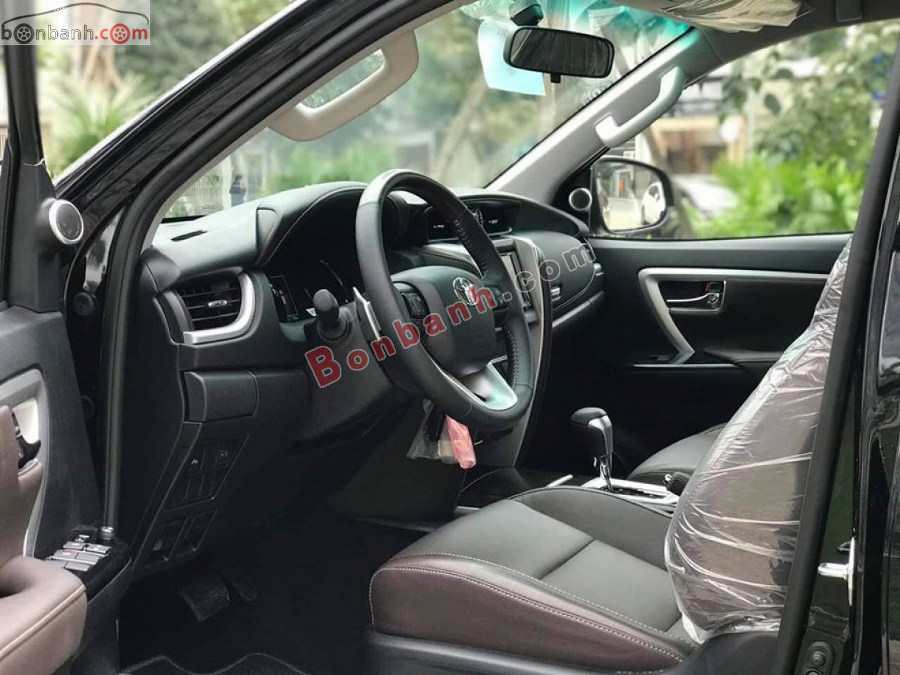 Nội thất Toyota Fortuner 2020