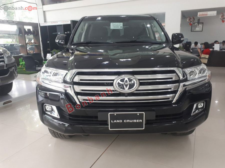Đầu xe Toyota Land Cruiser 2021