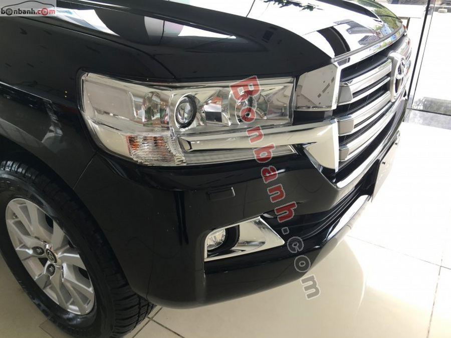 Cụm đèn phía trước của Toyota Land Cruiser 2021