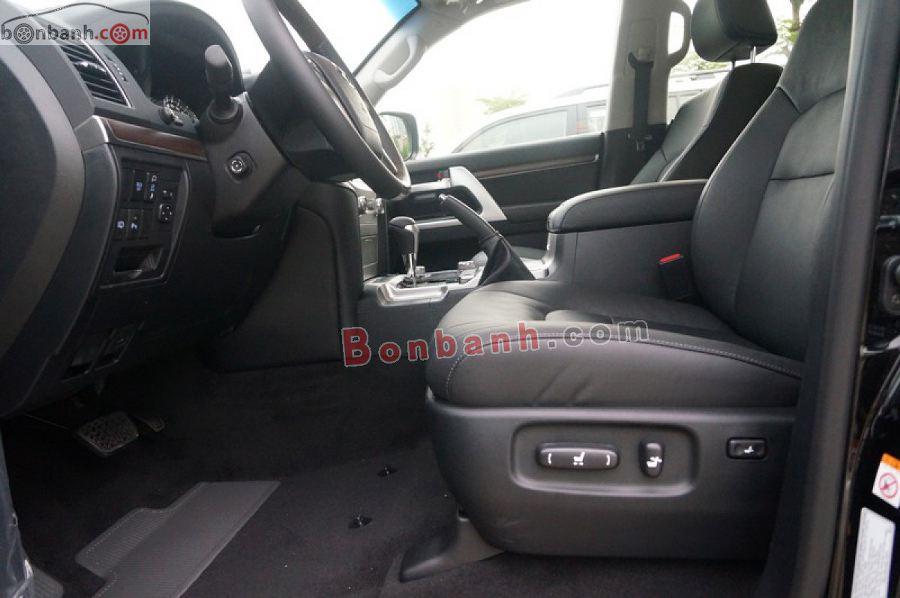 Ghế ngồi trên Toyota Land Cruiser 2021