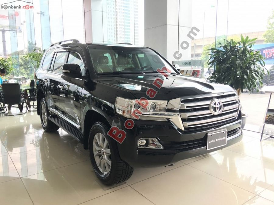 Toyota Land Cruiser 2020 vừa ra mắt