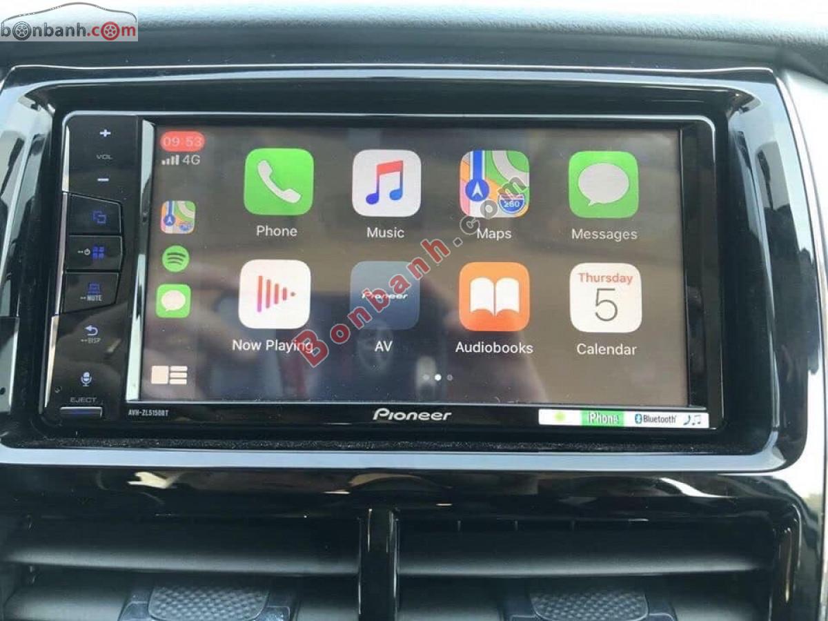 Hệ thống giải trí trên Toyota Vios 2020