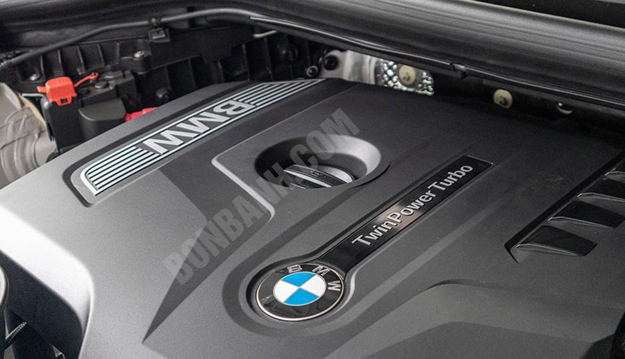 Động cơ xe BMW X3 2020