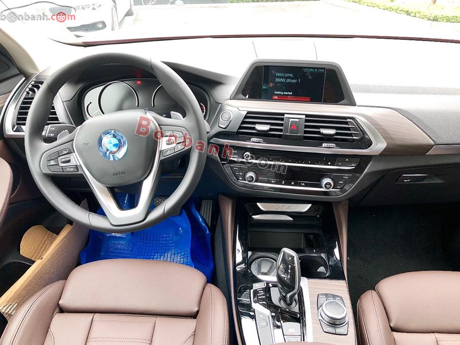 Nội thất xe BMW X4 2020