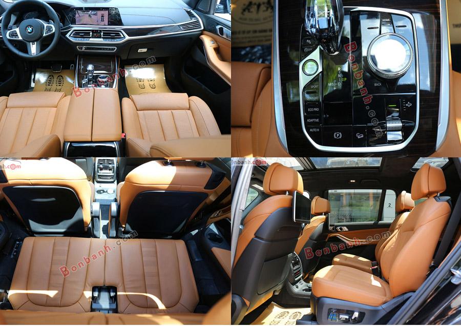 Nội thất xe BMW X7 2020
