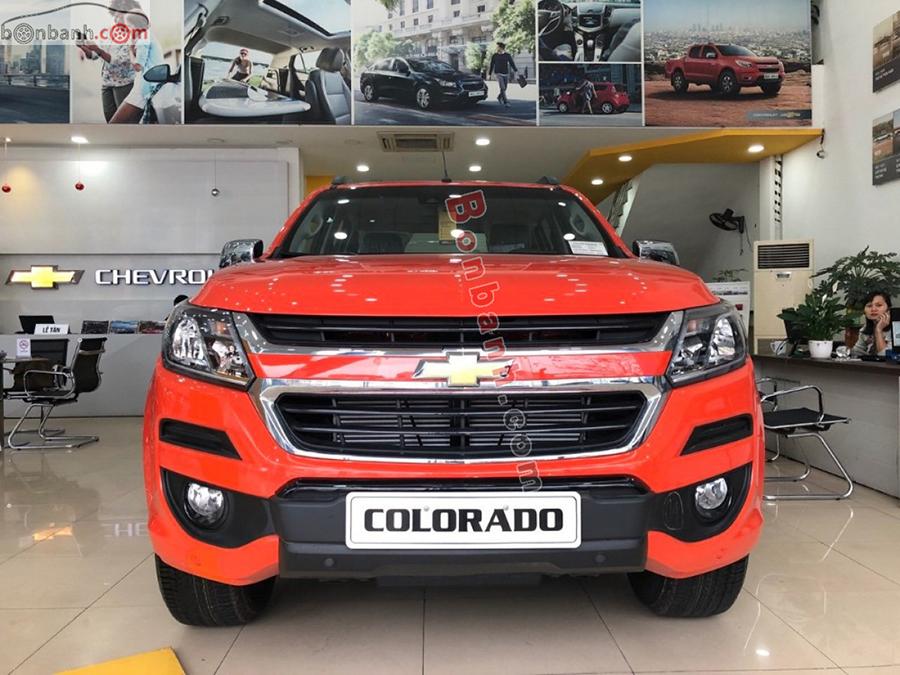 Đầu xe Chevrolet Colorado 2020