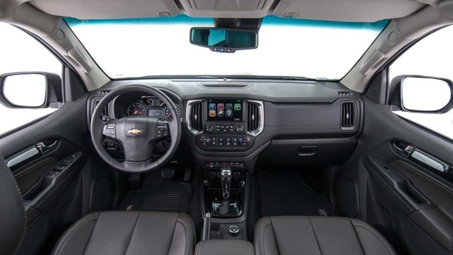 Nội thất xe Chevrolet Trailblazer 2020