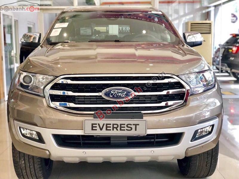 Đầu xe Ford Everest 2020