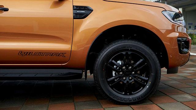 Thân xe Ford Ranger 2021