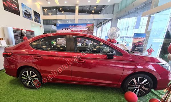 Thân xe Honda City 2021