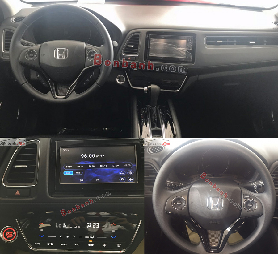 Nội thất Honda HRV 2020