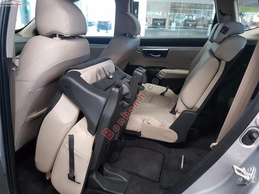 Khoang hành khách Honda CRV 2020