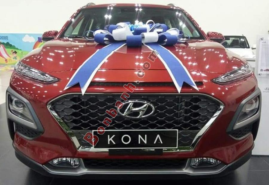 Phần đầu xe Hyundai Kona 2021
