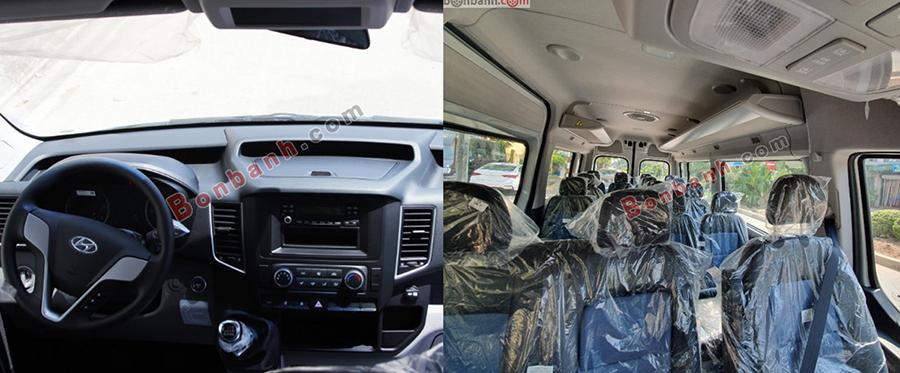 Nội thất xe Hyundai Solati 2020