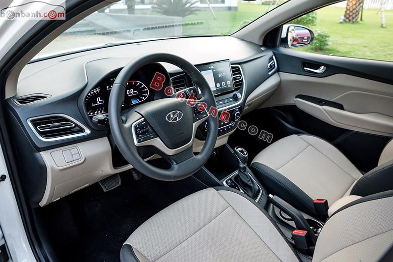 Nội thất Xe Hyundai Accent 2021