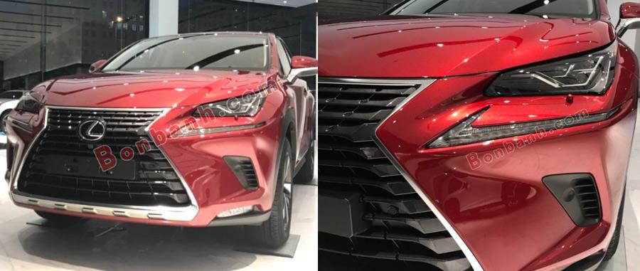 Ngoại thất xe Lexus NX300 2020
