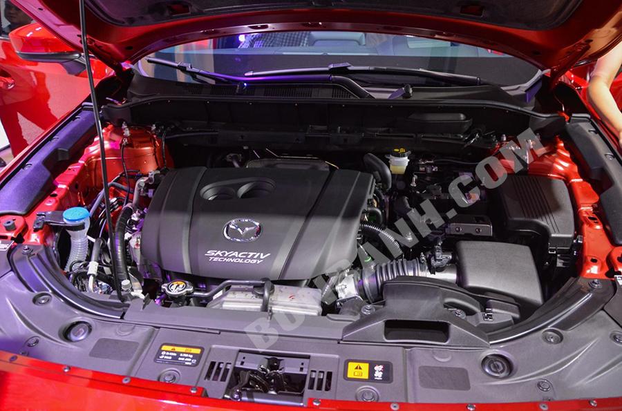 Động cơ Mazda CX-8 2020