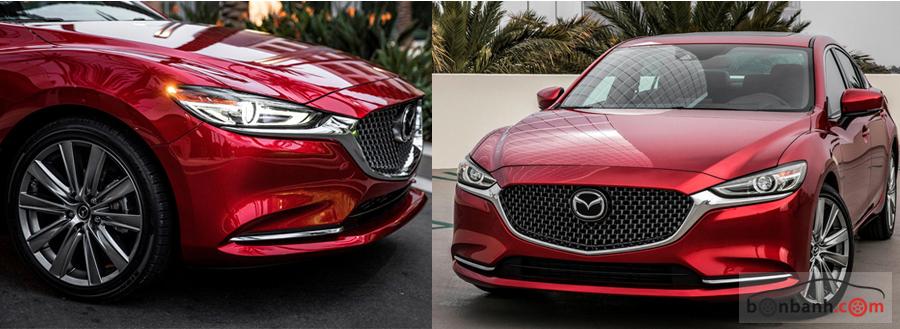 Đầu xe Mazda 6 2020