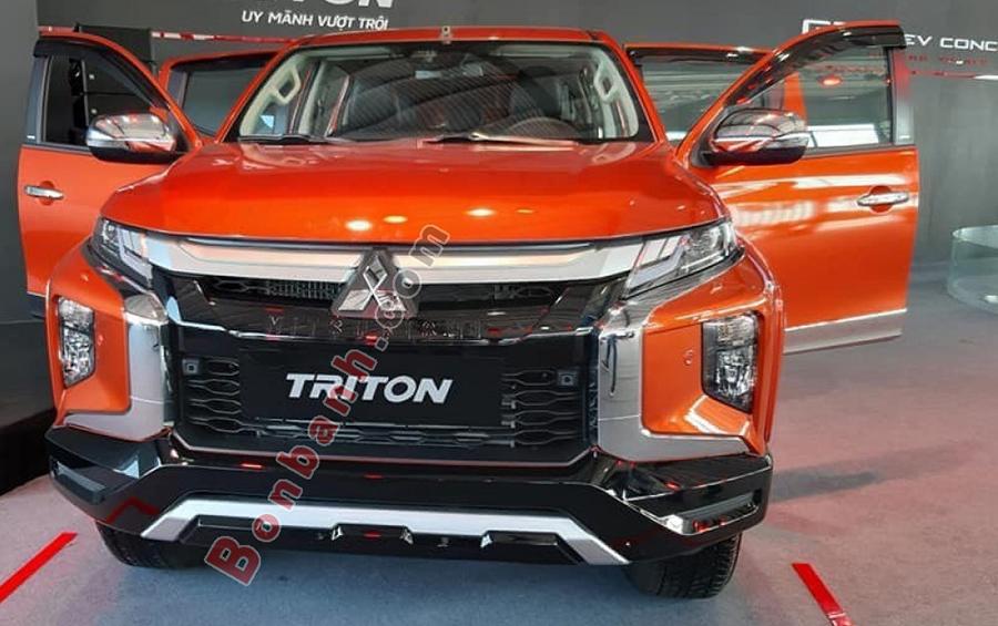 Đầu xe Mitsubishi Triton 2020