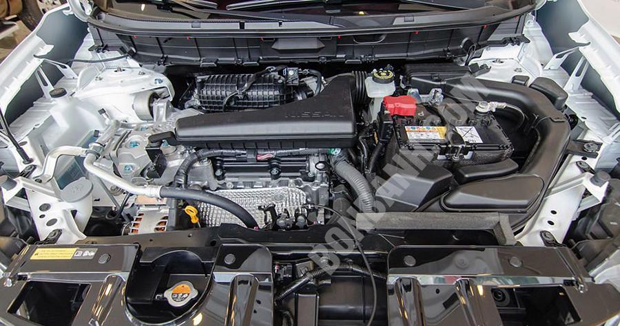 Động cơ xe Nissan X-Trail 2020