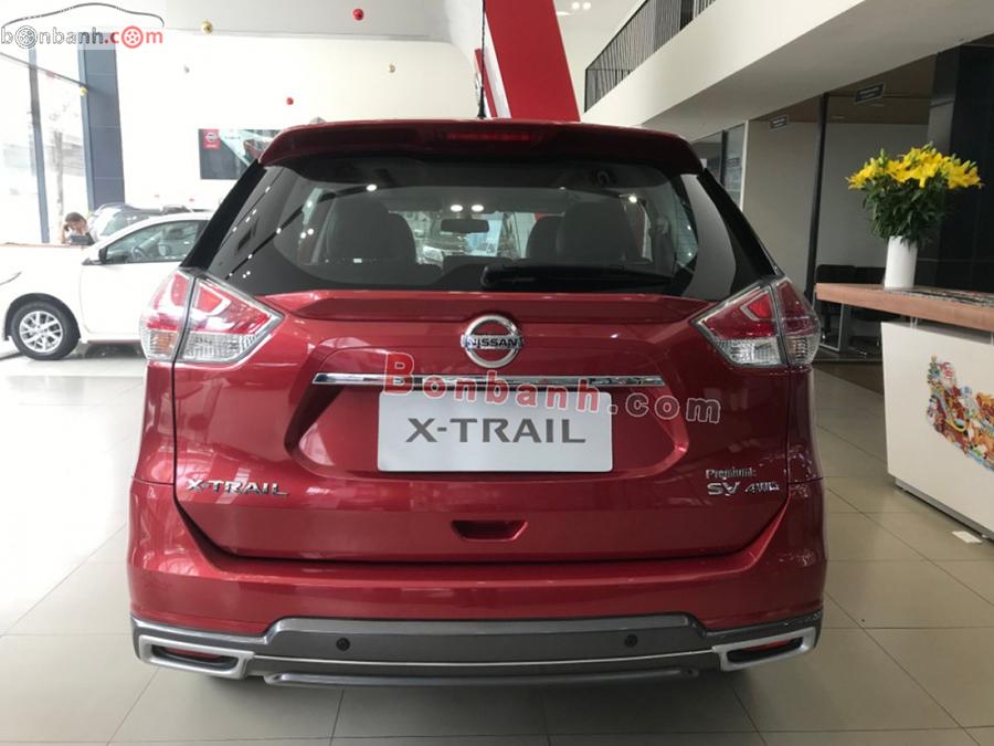 Đuôi xe Nissan X-Trail 2020