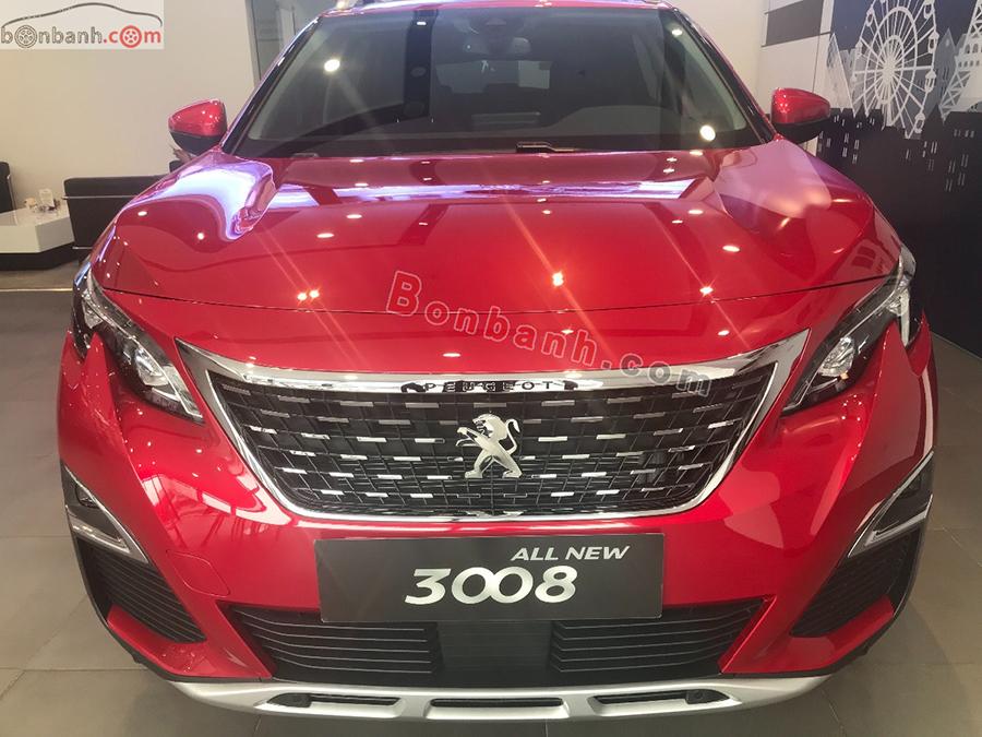 Đầu xe Peugeot 3008 2020