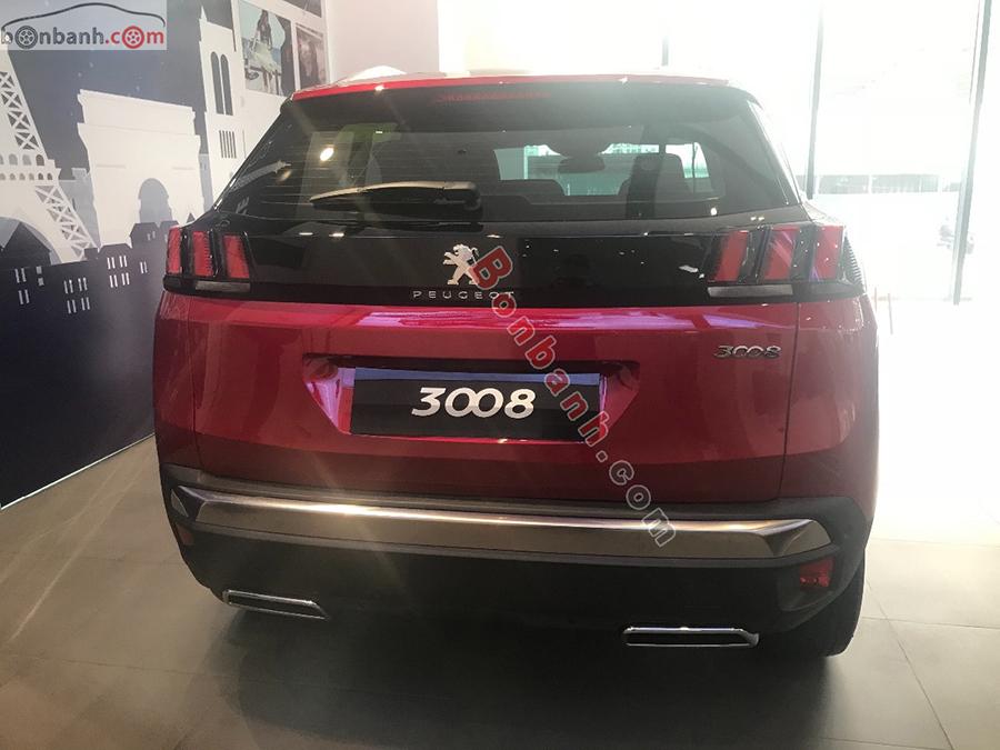 Đuôi xe Peugeot 3008 2020