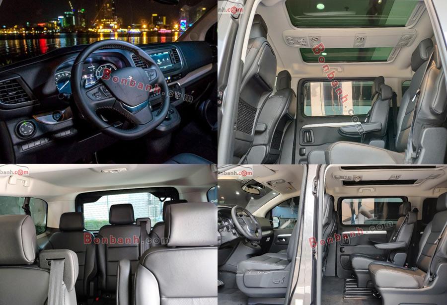 Nội thất Peugeot Traveller 2020