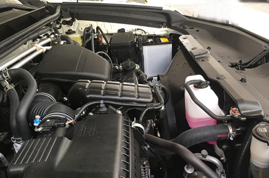 Động cơ xe Toyota Prado 2020