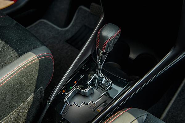 Hộp số CVT trên xe Toyota Vios 2021