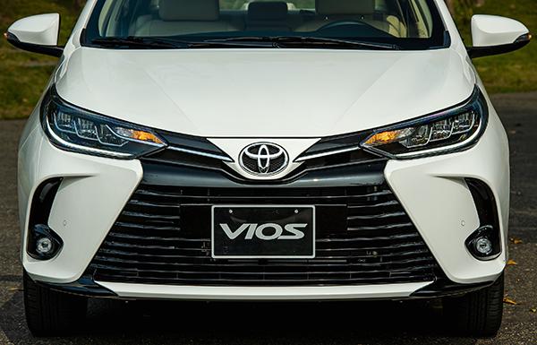 Đầu xe thiết kế mới của Toyota Vios 2021