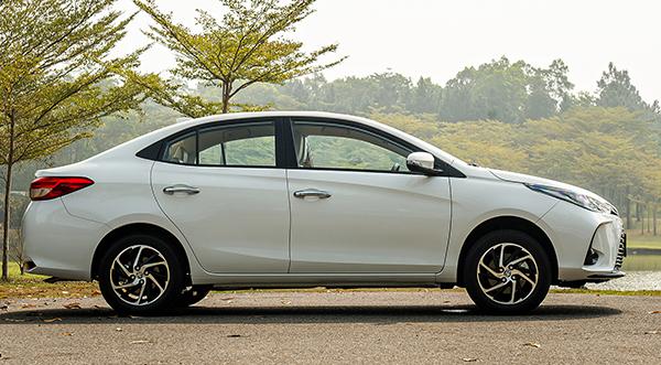 Thân xe Toyota Vios 2021