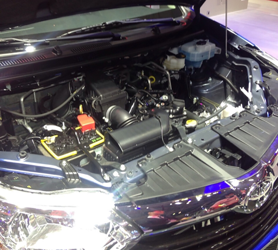 Động cơ xe Toyota Avanza 2021