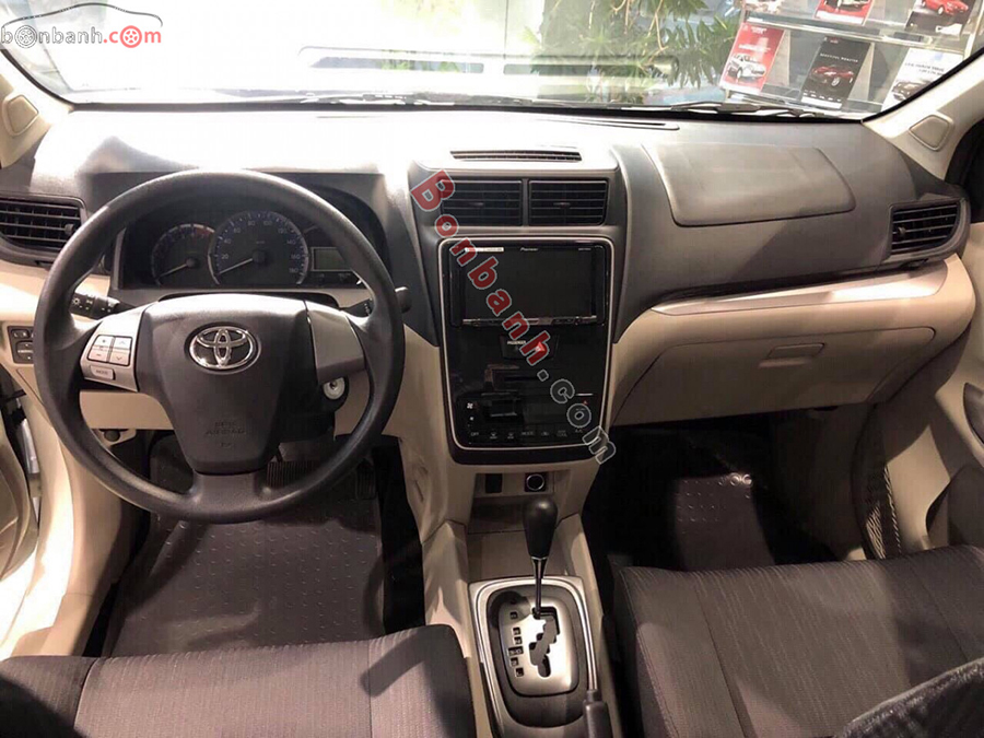 Nội thất xe Toyota Avanza 2021